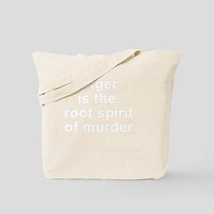 anger_white Tote Bag