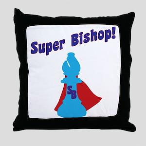SuperBishop Throw Pillow