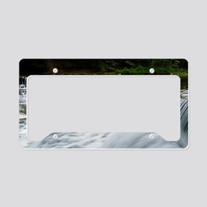 Chagrin River falls copy License Plate Holder