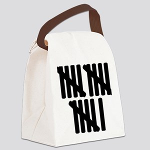 line_sixteen Canvas Lunch Bag