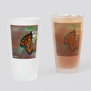 monarch 2 copy Drinking Glass