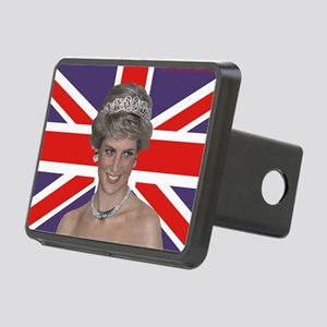 Princess Diana flying the  Rectangular Hitch Cover