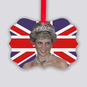 Princess Diana flying the Flag Picture Ornament