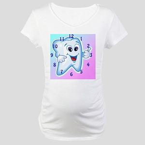 ThumbsUpClock3 Maternity T-Shirt