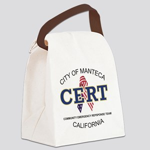 manteca_cert_logo Canvas Lunch Bag