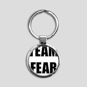 Team Fear Round Keychain