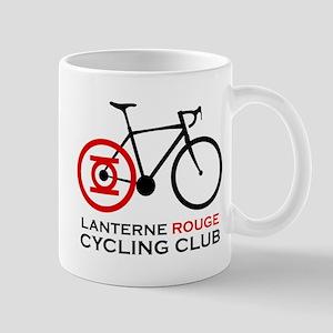 Lanterne Rouge Cycling Club Mugs