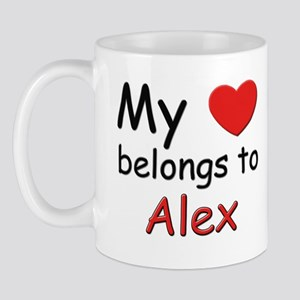 My heart belongs to alex Mug