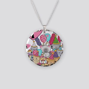 ZXKITTENS1 Necklace Circle Charm