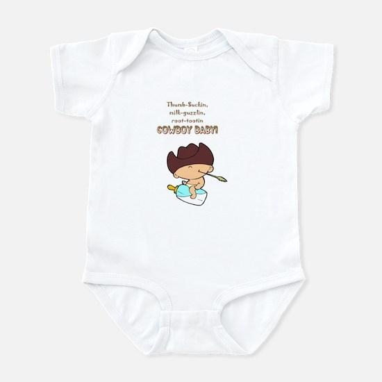 Cowboy Baby Infant Creeper