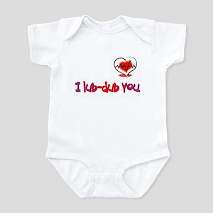 I lub-dub you Infant Bodysuit