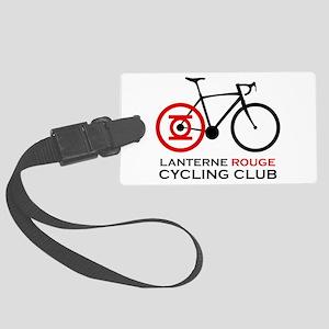 Lanterne Rouge Cycling Club Large Luggage Tag
