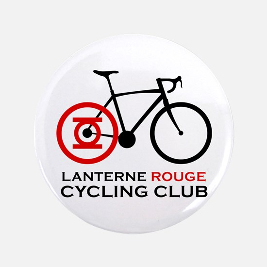 "Lanterne Rouge Cycling Club 3.5"" Button (100 pack)"