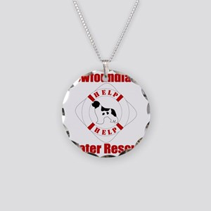 HelpLandseerHelp Necklace Circle Charm