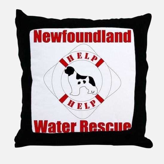 HelpLandseerHelp Throw Pillow