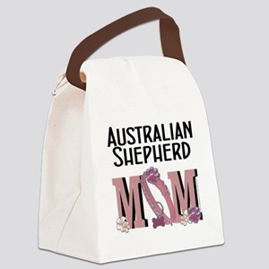 Australian_Shepherd_Mom Canvas Lunch Bag