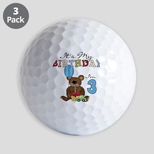 BEARTEDDY3RD Golf Balls