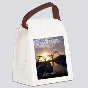 calcov115x9b Canvas Lunch Bag