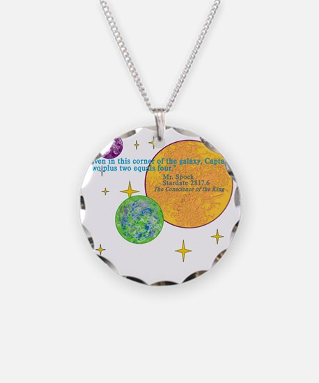 SpockMathQuote Necklace