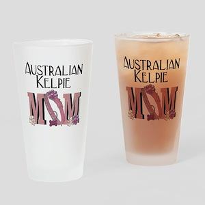 Australian_Kelpie_Mom Drinking Glass