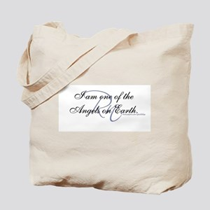 Angel on Earth Tote Bag