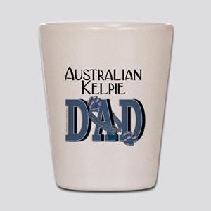 Australian_Kelpie_DAD Shot Glass