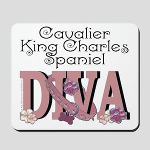 CavalierKingCharlesSpanielDIVA Mousepad