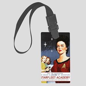 star-trek_vintage-starfleet-post Large Luggage Tag