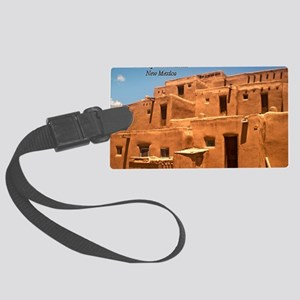 Taos11cover Large Luggage Tag