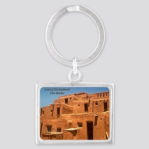 Taos11cover Landscape Keychain