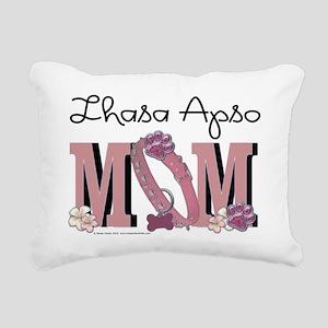 LhasaApsoMOM Rectangular Canvas Pillow