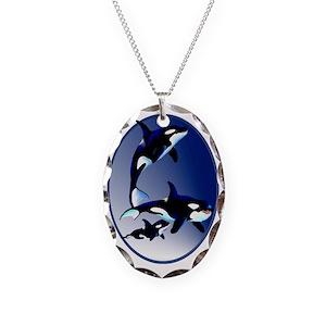 Killer whale necklaces cafepress aloadofball Choice Image