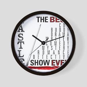 Castle_BestShowEver Wall Clock