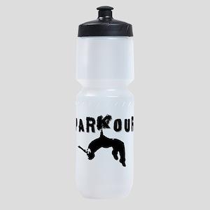 Parkour Athlete Sports Bottle