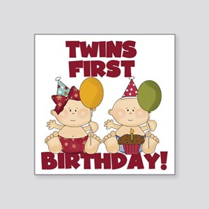 Happy Birthday Twin Brother Stickers Cafepress