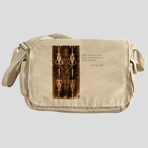 Matthew 3-15 Messenger Bag
