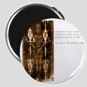 Matthew 4-4 - Latin Magnet