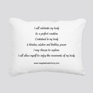 body perfect creation te Rectangular Canvas Pillow
