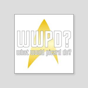 """wwpd2-01 Square Sticker 3"""" x 3"""""""