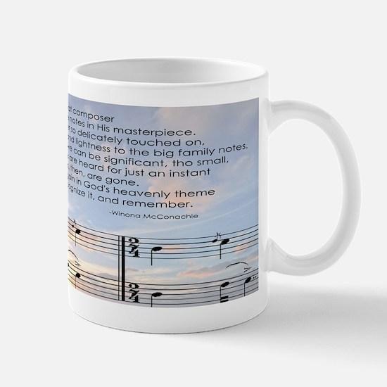 Gods Grace Note Mug