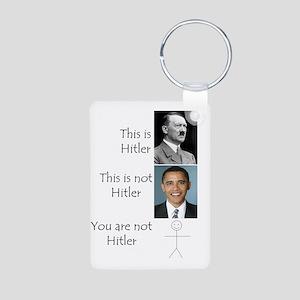 Hitler Aluminum Photo Keychain