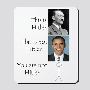 Hitler Mousepad