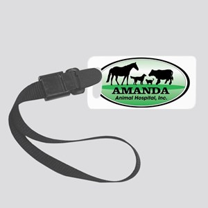 Amanda Animal Hospital Small Luggage Tag