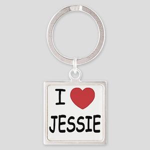 JESSIE Square Keychain