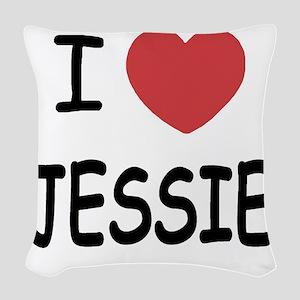 JESSIE Woven Throw Pillow