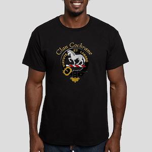 black crest Men's Fitted T-Shirt (dark)