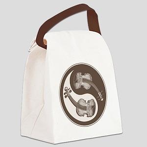 vioyin-yang-brn-T Canvas Lunch Bag