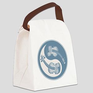 vioyin-yang-blu-T Canvas Lunch Bag