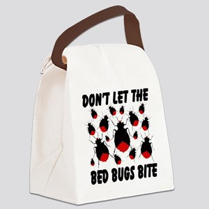 bed_bugs_TAL2010_white Canvas Lunch Bag
