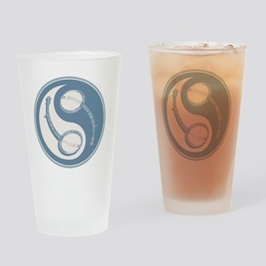 banjo-yang-blu-T Drinking Glass